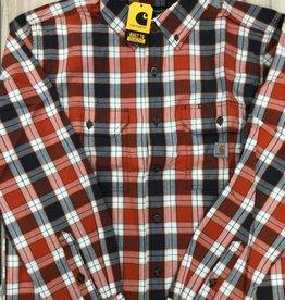 Carhartt Carhartt 104910 Loose Fit Midweight Chambray Long Sleeve Shirt Men's