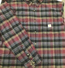Carhartt Carhartt 104909 Rugged Flex Relaxed Fit Midweight Flannel Long Sleeve Shirt Men's