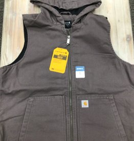 Carhartt Carhartt Washed Duck Insulated Hooded Vest Ladies'