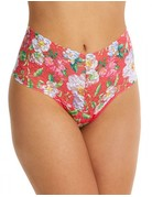 Hanky Panky Retro Thong 8A1921 Super Bloom One Size