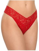 Hanky Panky Original Rise Thong 4811 Red One Size
