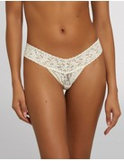 Hanky Panky Original Rise Thong 4811 Ivory One Size