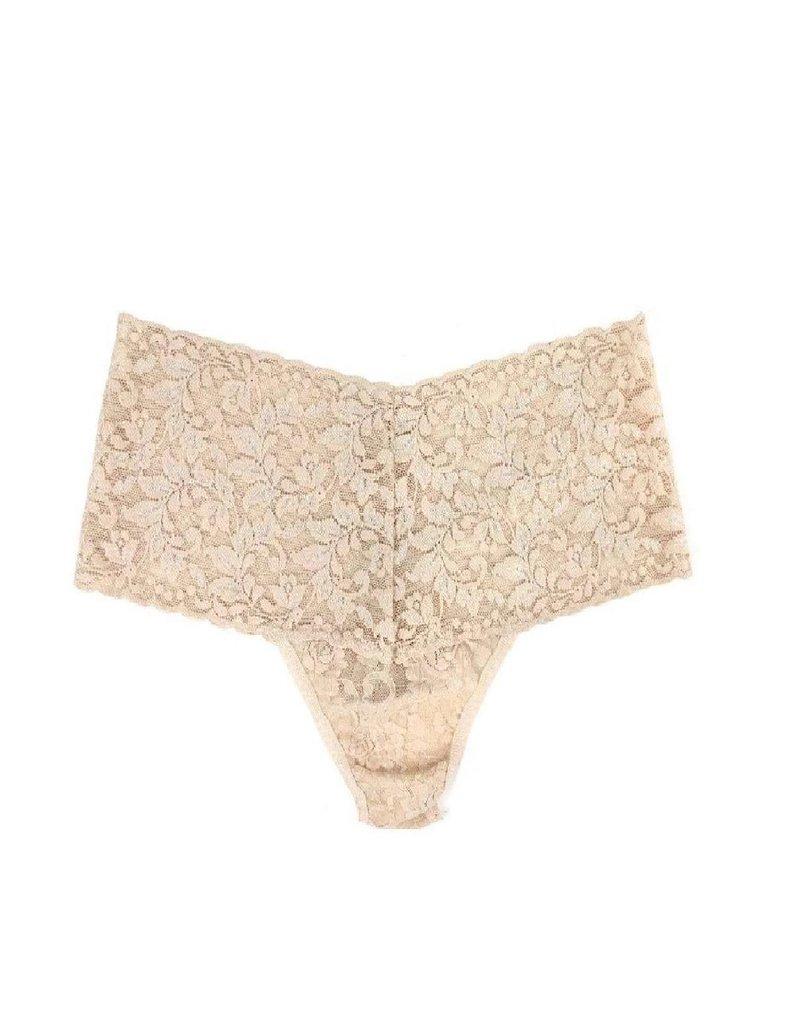 Hanky Panky Retro Lace Thong 9K1926 Chai One Size