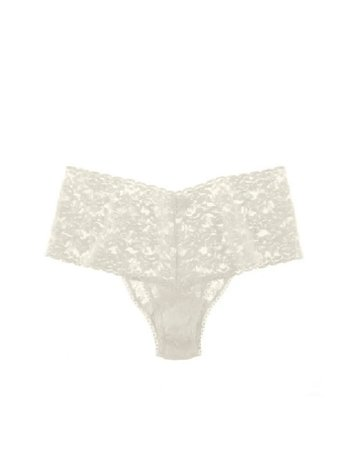 Hanky Panky Retro Lace Thong Plus 9K1926X Marshmallow One Size
