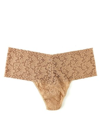 Hanky Panky Retro Lace Thong Plus 9K1926X Chai One Size