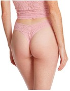 Hanky Panky Original Rise Thong 4811 Meadow Rose One Size