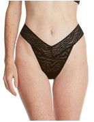 Hanky Panky Original Rise Thong 6R1181 Black One Size