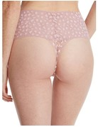 Hanky Panky Retro Lace Thong 7I1921 Desert Rose Leopard One Size
