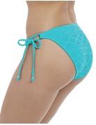 Freya Sundance Tie Side Bikini Bottom 3975 Small Deep Ocean