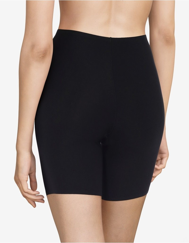 Chantelle SoftStretch Mid Thigh Shorts 2645 Black One Size