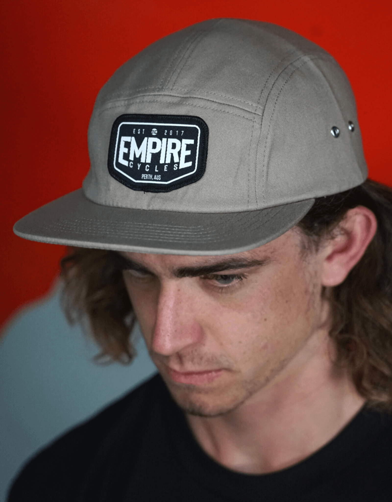 Empire Cycles Empire Plate 5 Panel Hat