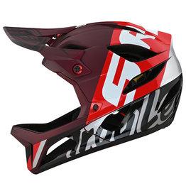 Troy Lee Designs Troy Lee Designs 22 Stage MIPS Helmet Nova Sram Burgundy