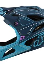 Troy Lee Designs Troy Lee Designs 22 Stage MIPS Helmet Pinstripe Marine