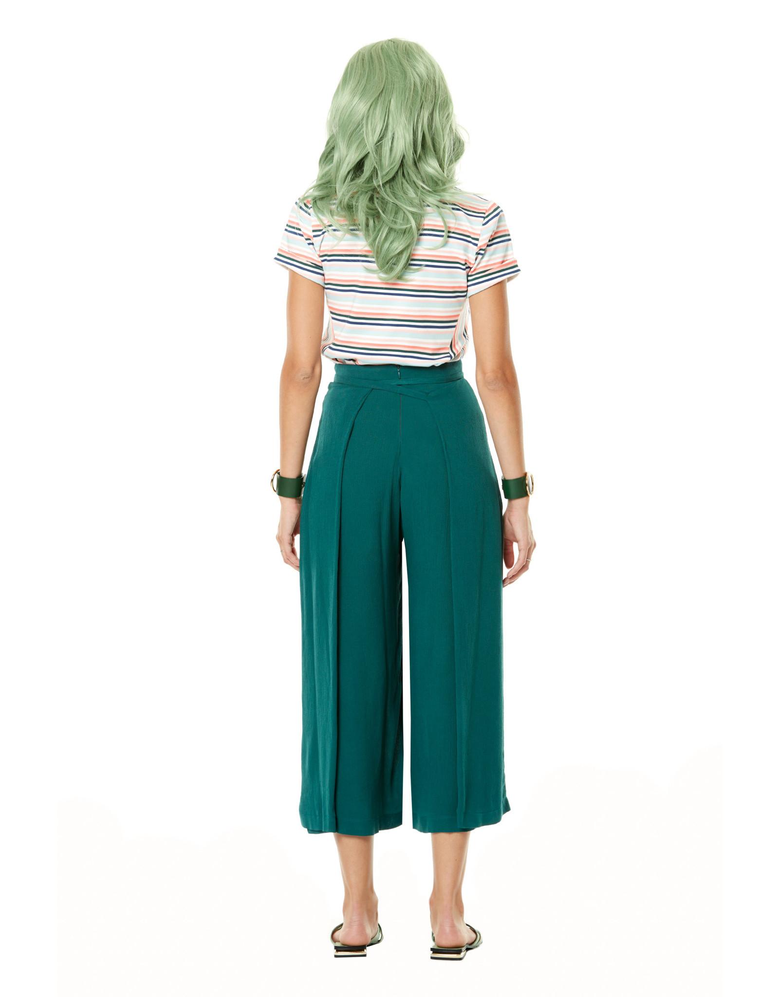 Annie 50 Pantalon Arlequin - Émeraude