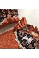 Supayana Robe licorne 6mois/4ans - Corail