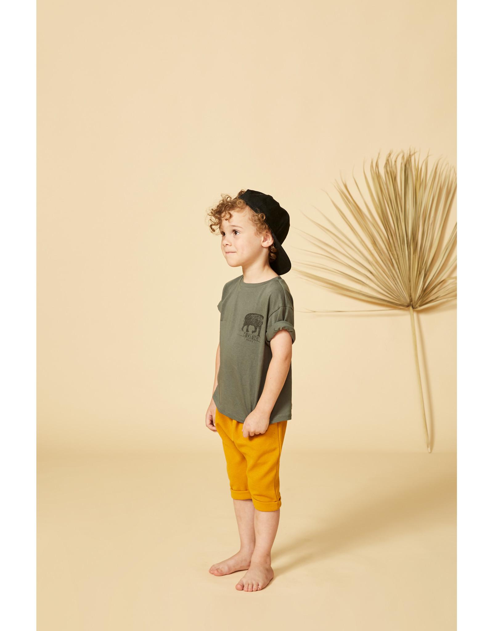 Cokluch Mini Pantalon unisexe Suricate - Moutarde