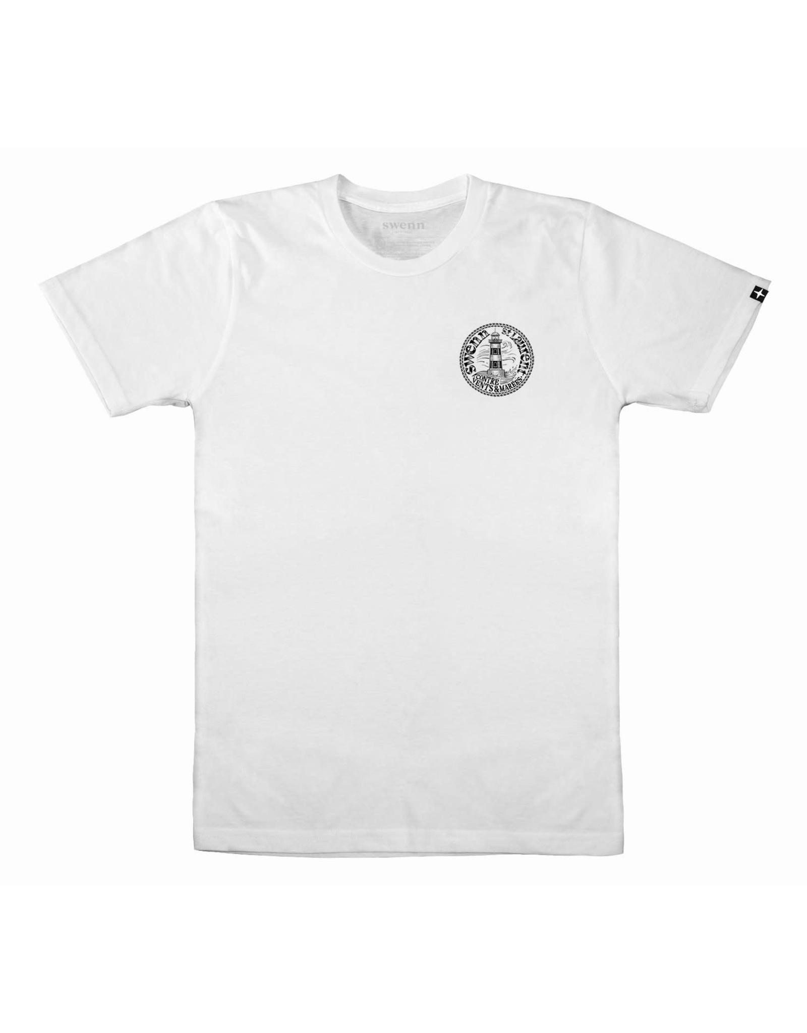 Swenn T-shirt unisexe Phare - Blanc