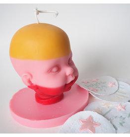 Babydoll Naturals Chandelle poupée Gretchen Ross - Orange, pink & red / Miel & rose