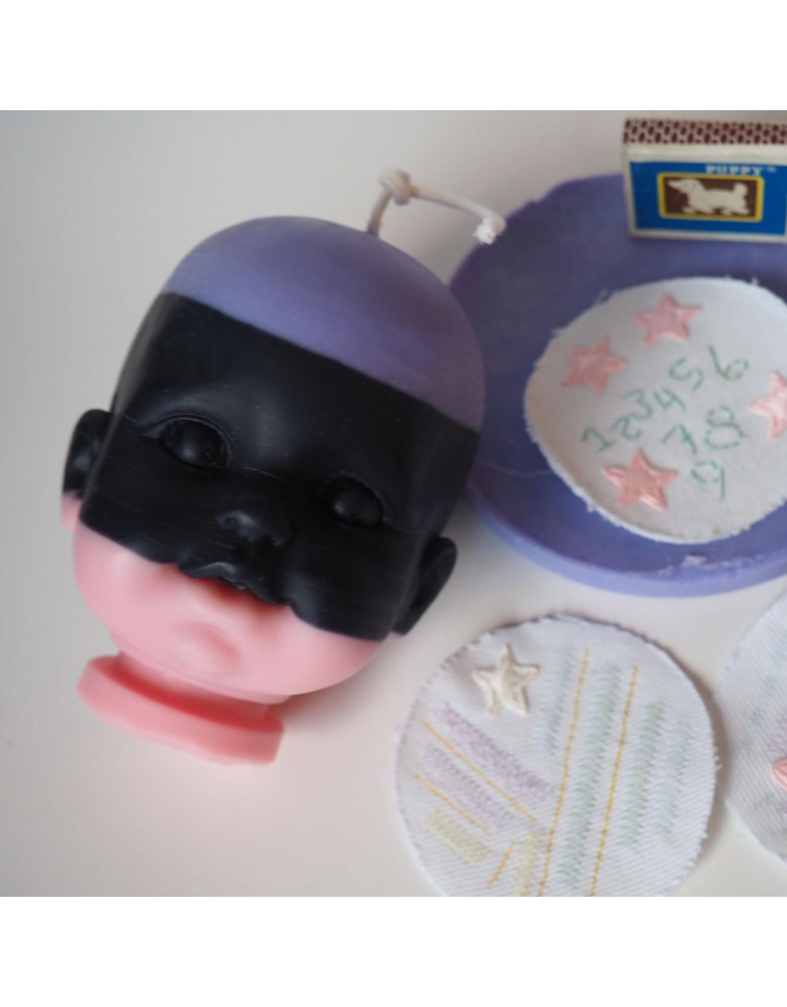 Babydoll Naturals Chandelle poupée Gretchen Ross -  Lavande, noir & rose / Lavande, musk & rose