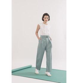 Jennifer Glasgow Pantalon Rei - Écume de mer