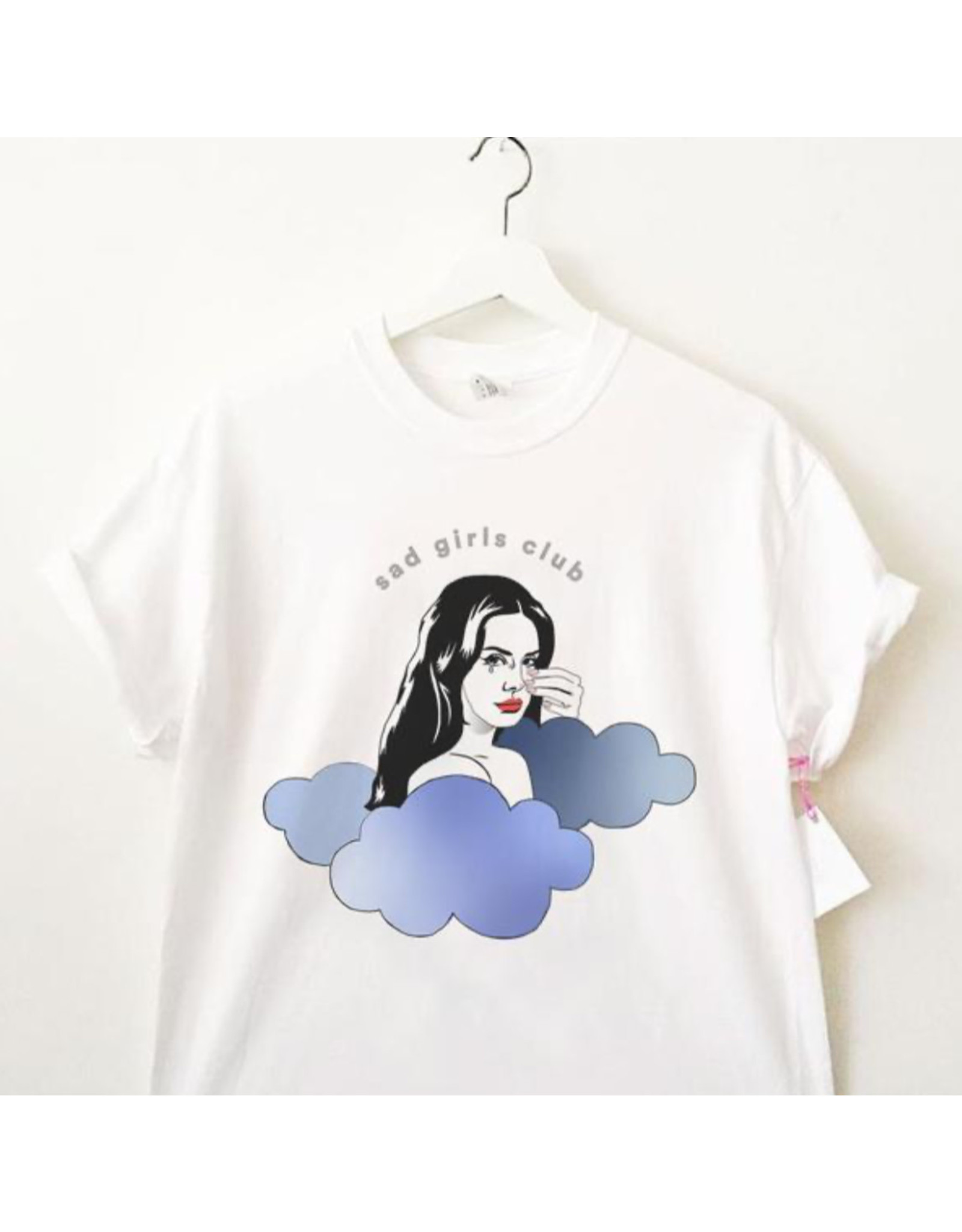 Spilt Milk T-shirt unisexe Sad girls club