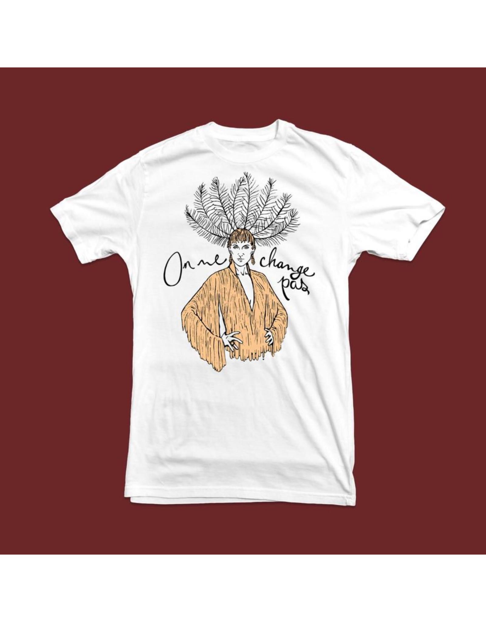 T-shirt unisexe On ne change pas