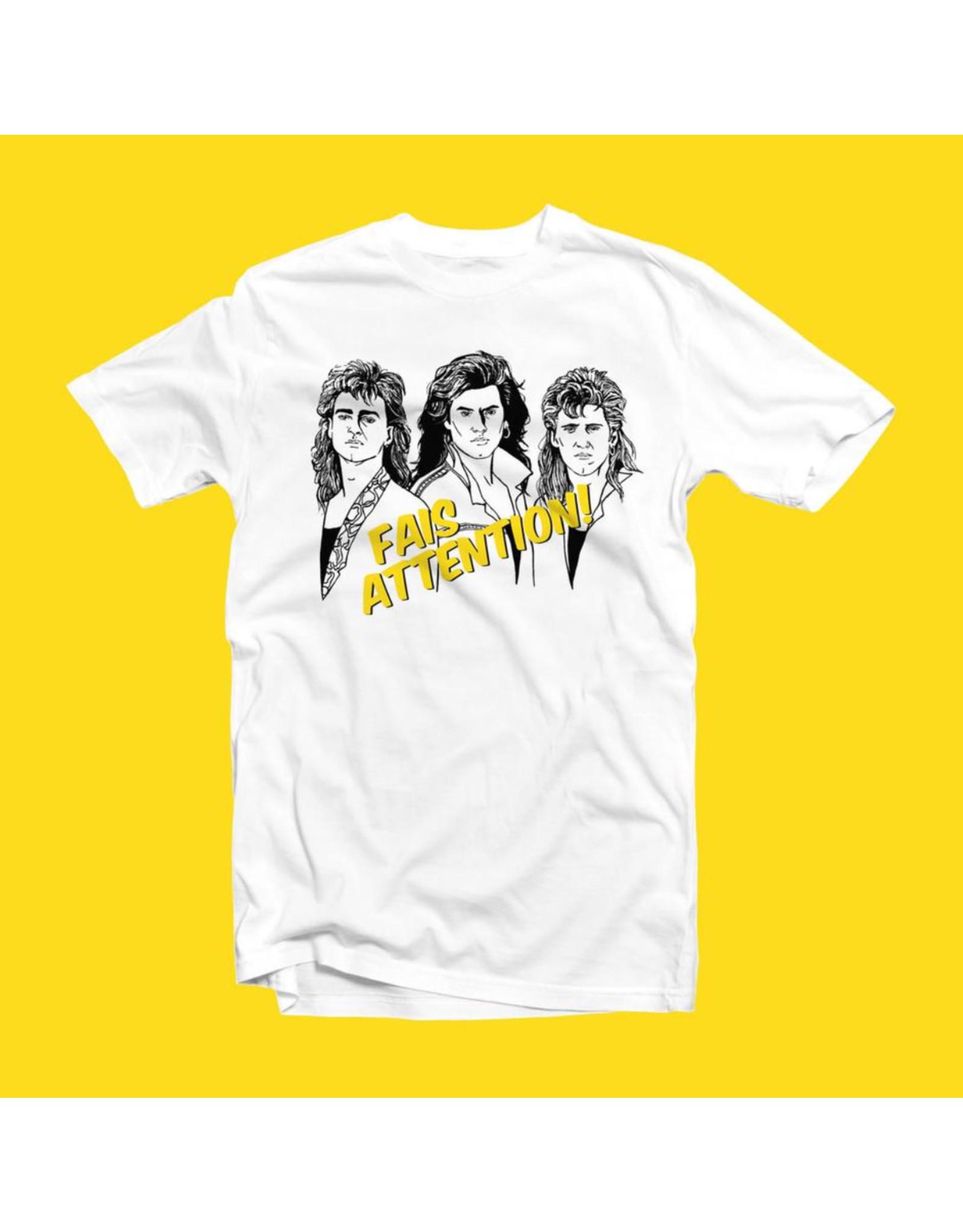 Tamelo T-shirt unisexe Fais attention