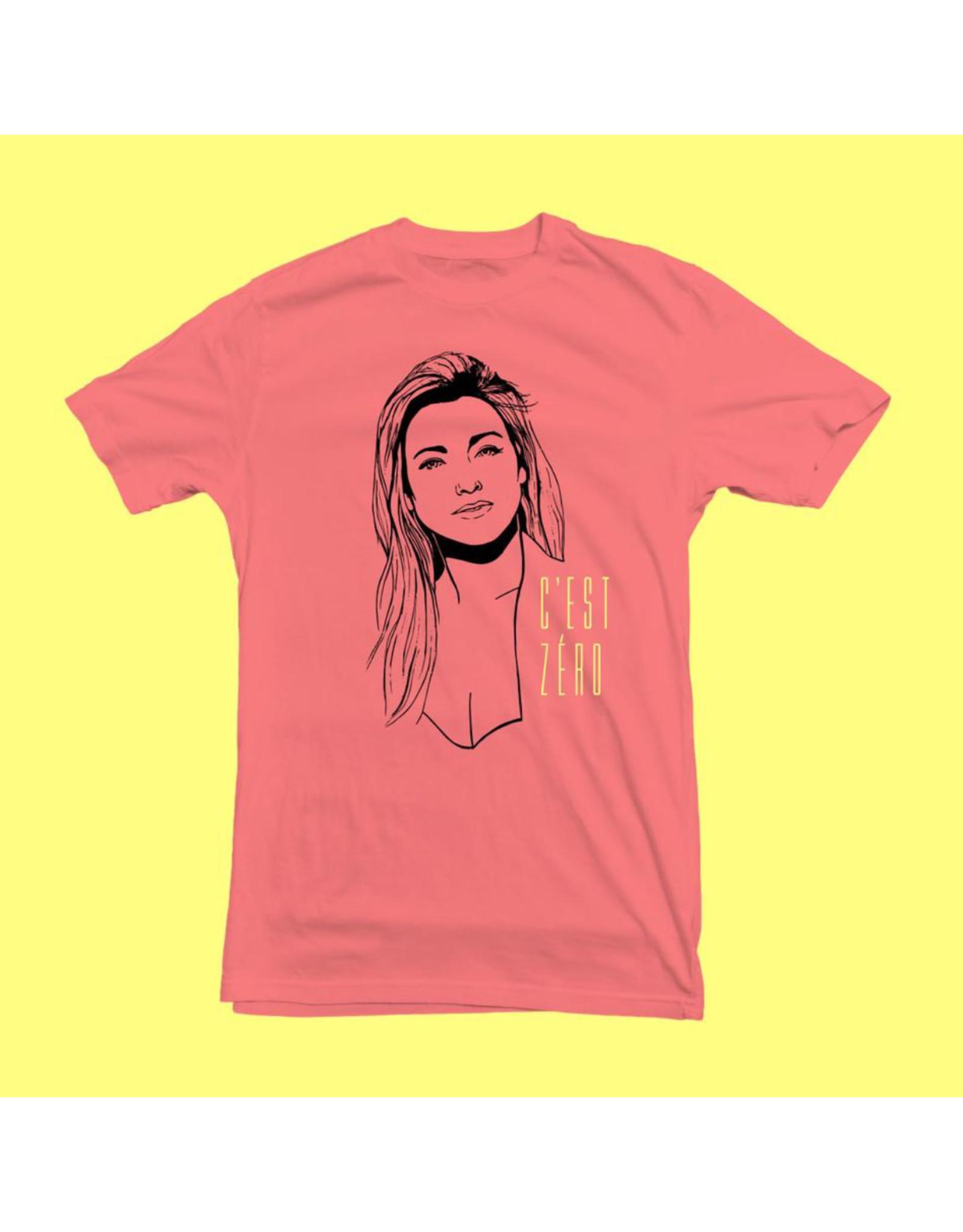 T-shirt unisexe C'est Zéro