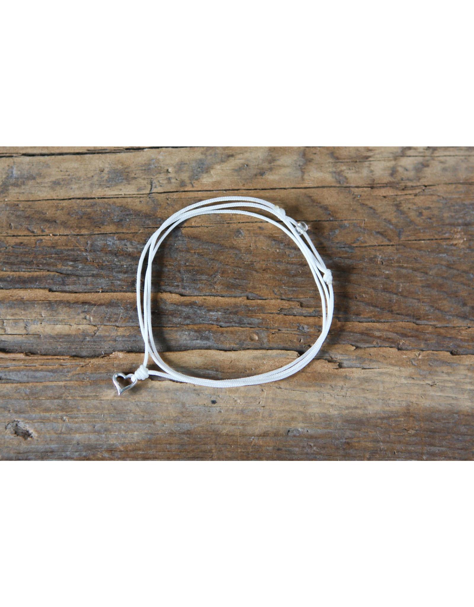 Mohawki Bracelet nylon coeur