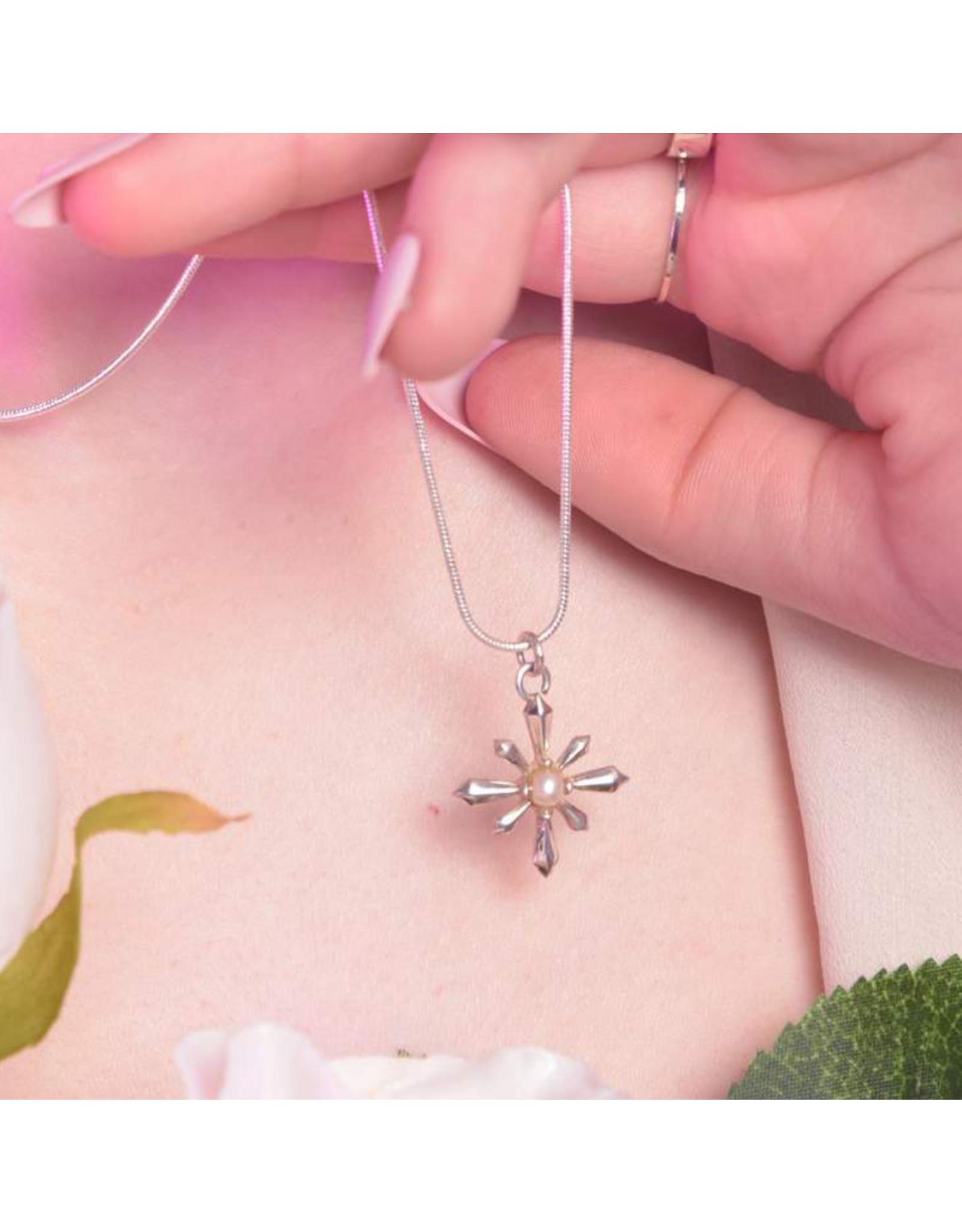 Inchoo Bijoux Pendentif Art déco perle