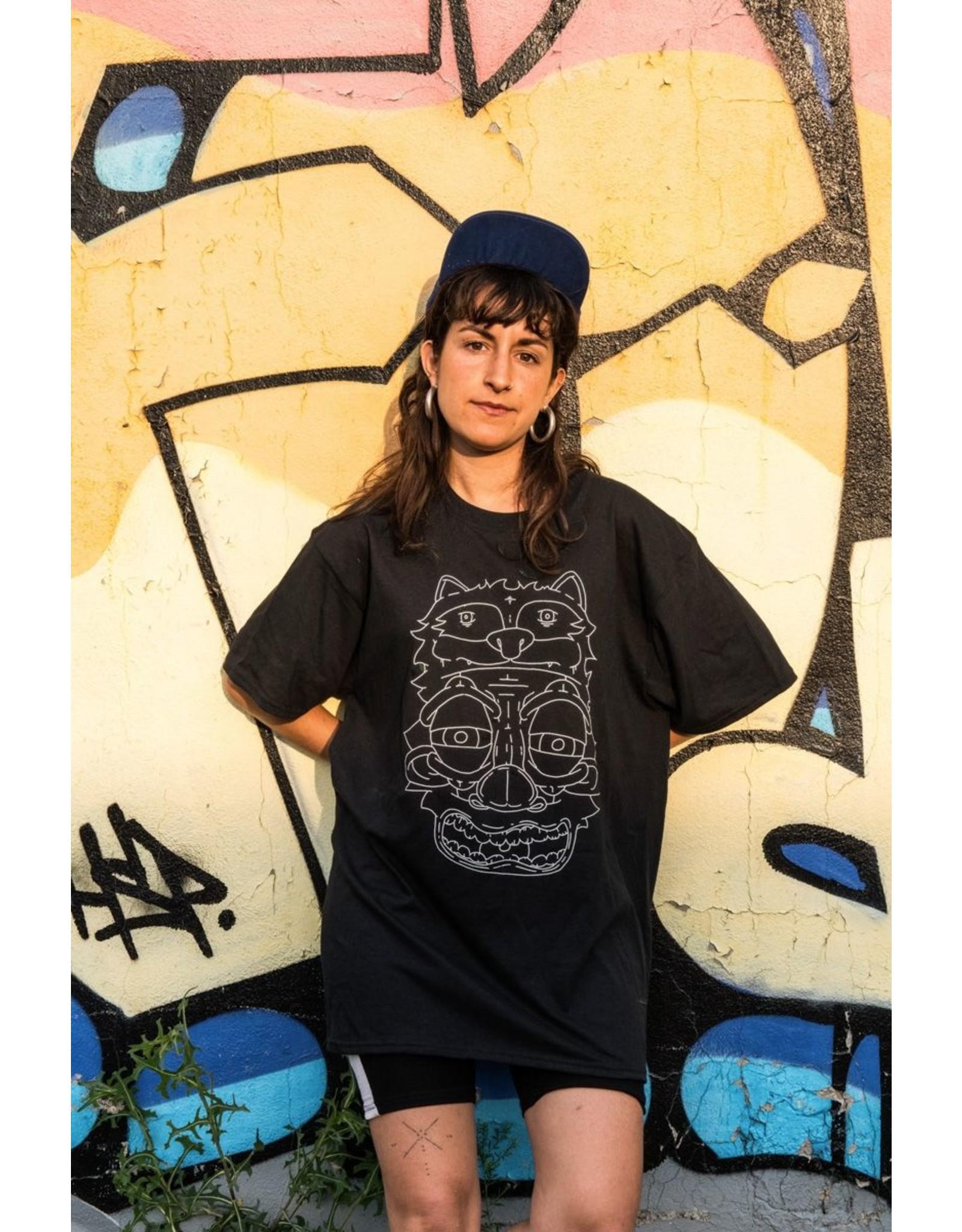 Bezo T-shirt Raccoon