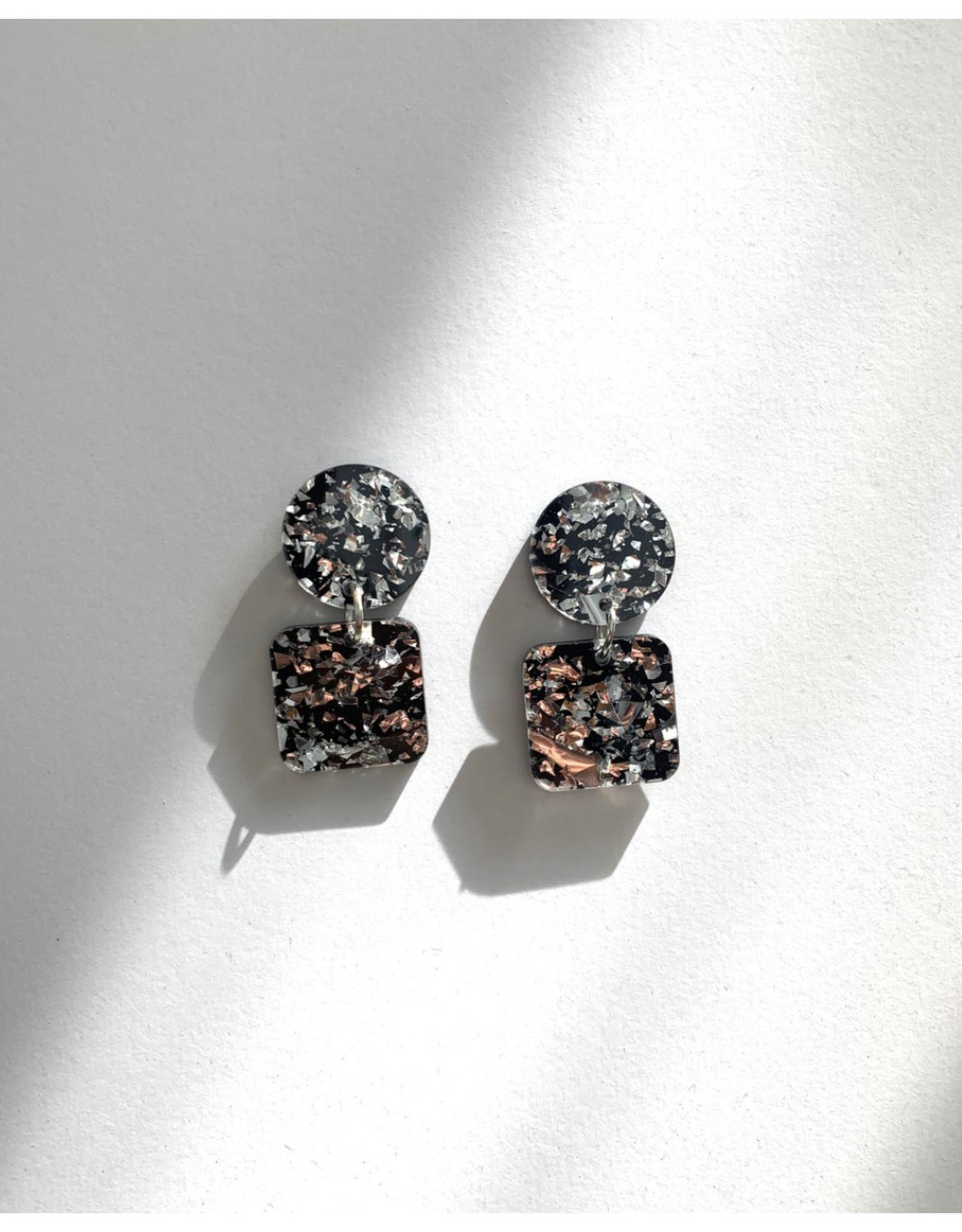 Martel Mini Ice. Boucles d'oreilles