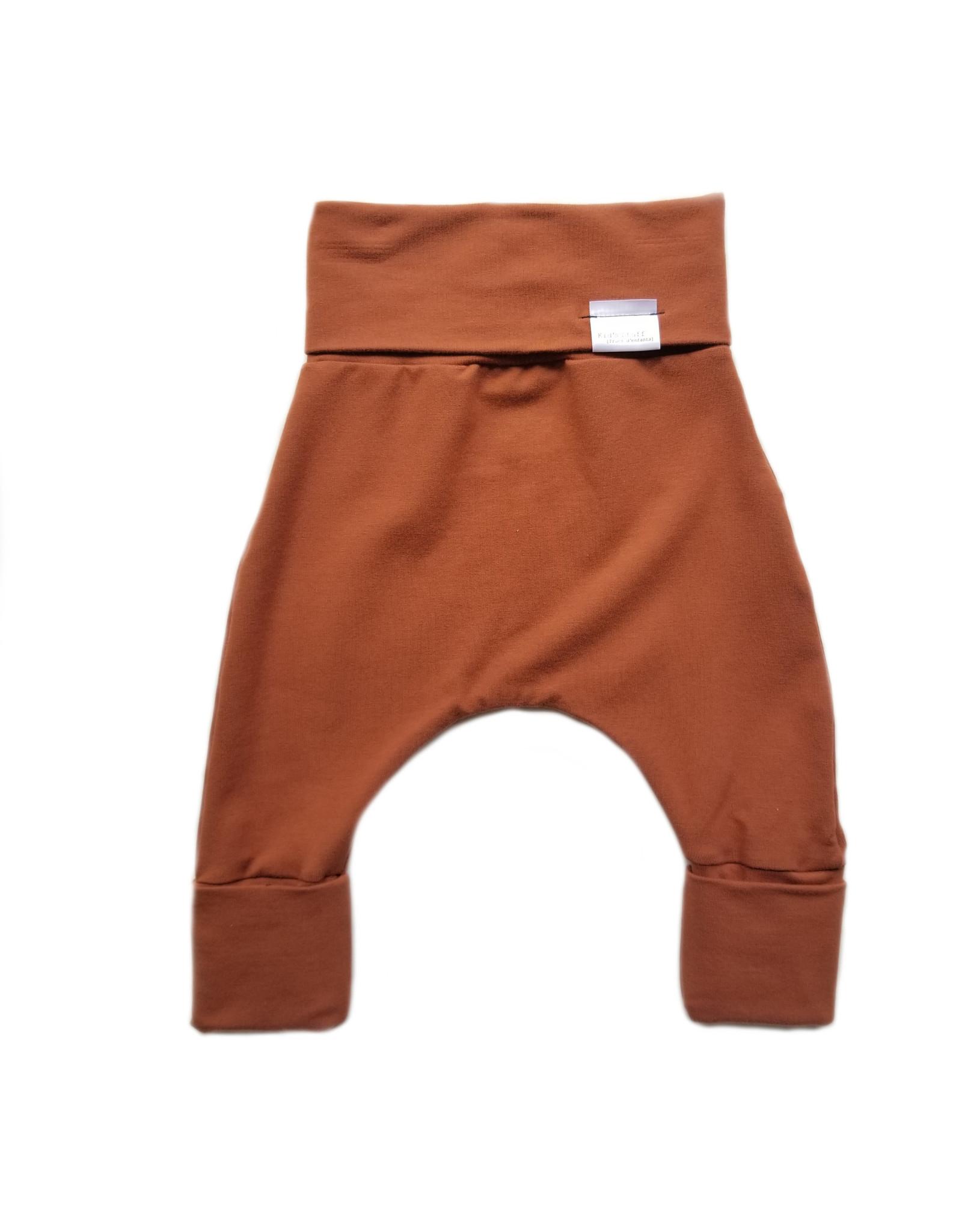 Kid's Stuff Pantalon évolutif cuivre 0 à 6 ans
