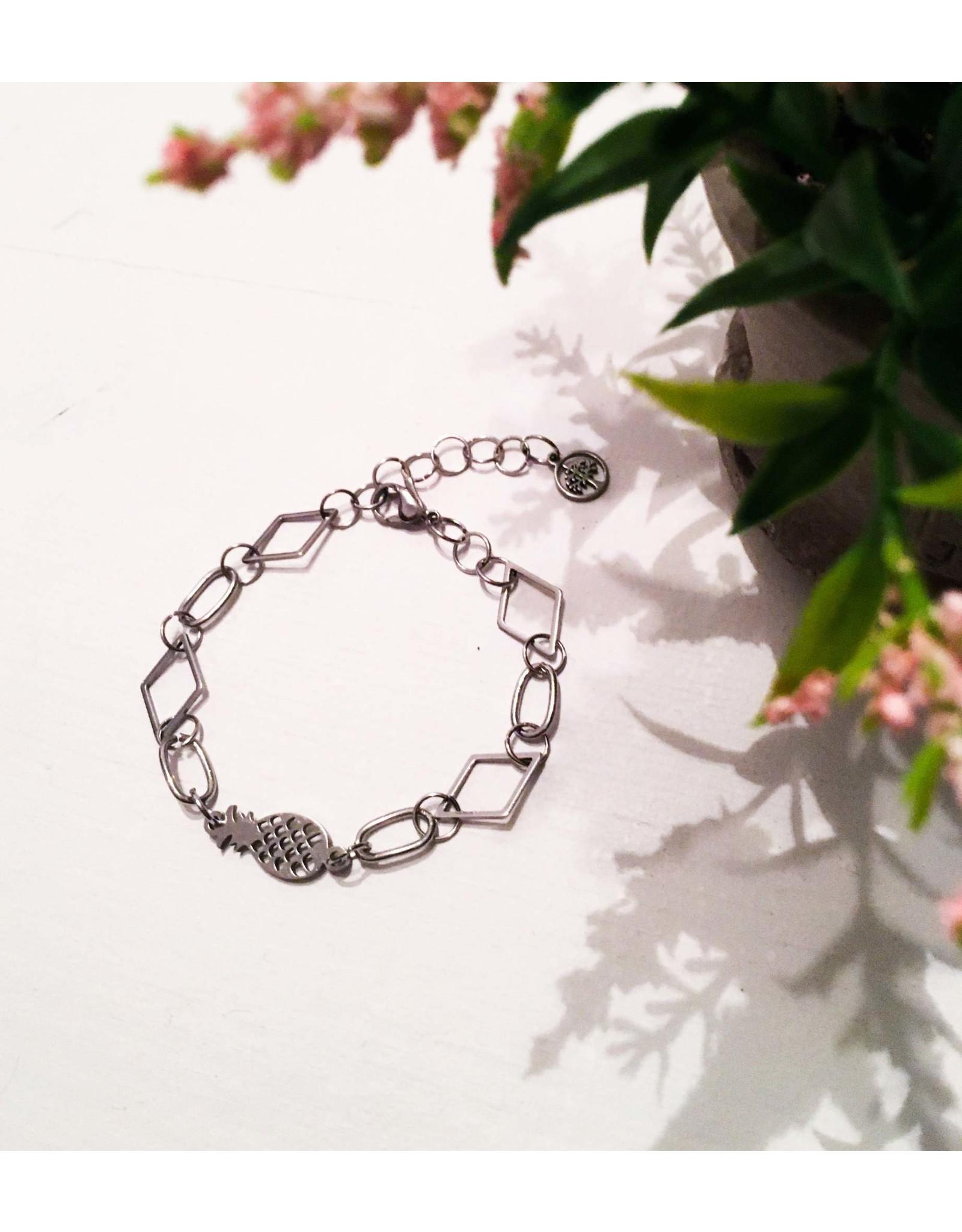 Les pensées bijoux Bracelet ananas