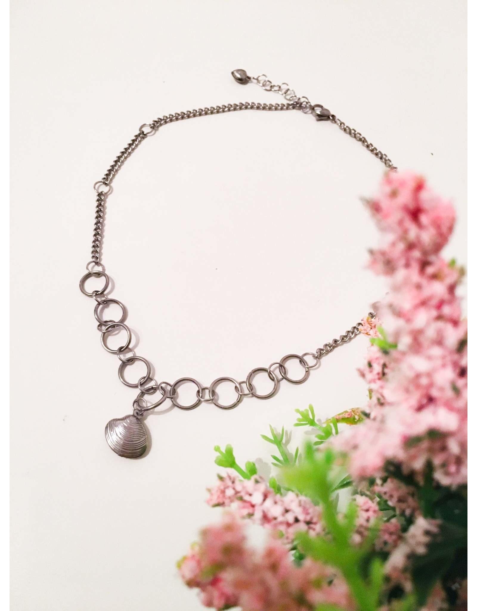 Les pensées bijoux Collier court Coquillage