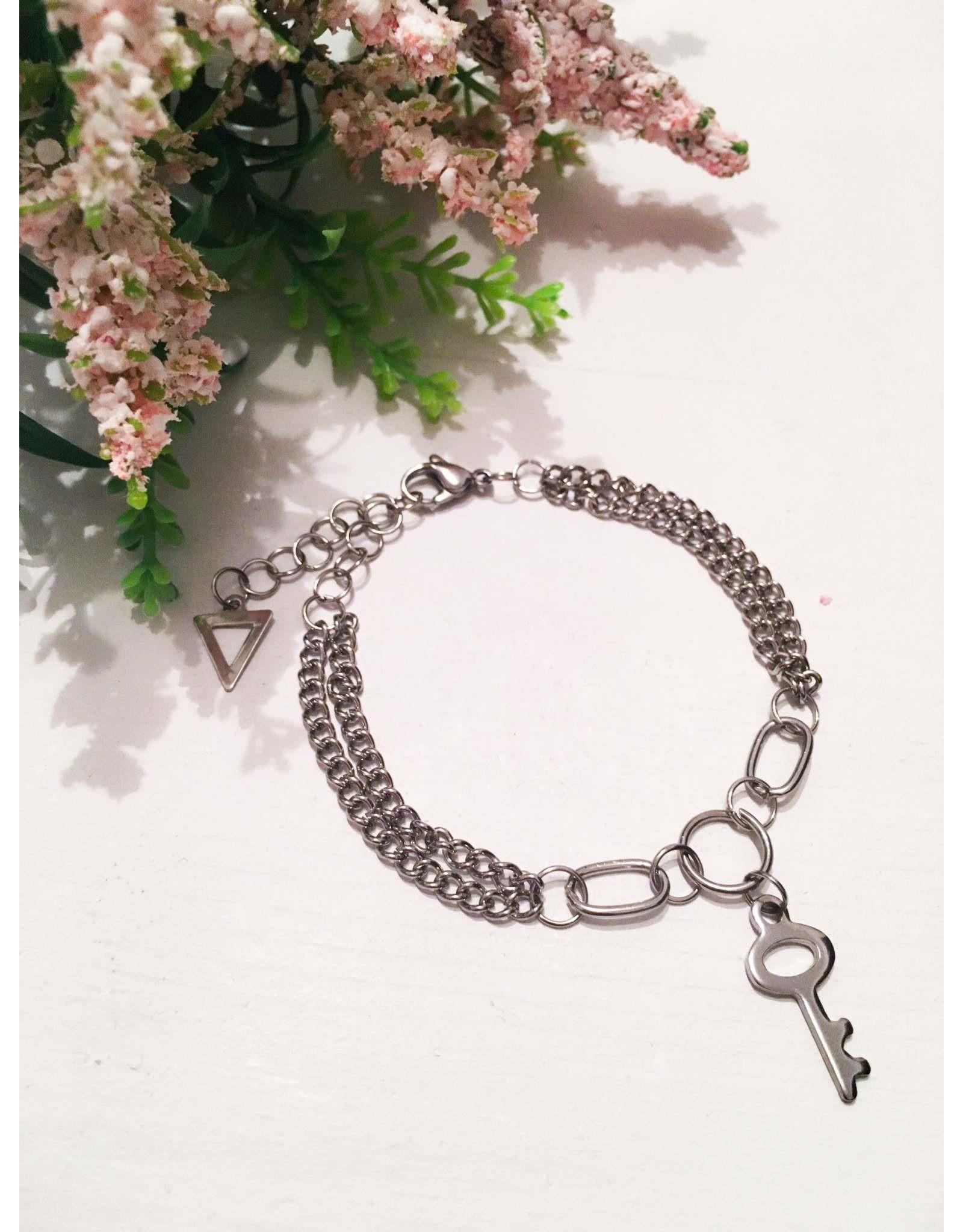 Les pensées bijoux Bracelet clé