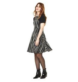 Annie 50 Robe Ophélie noir et blanc