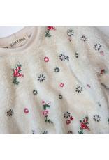 Supayana Chandail fluffy fleurs petits enfants