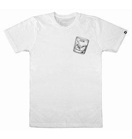 Swenn T-shirt unisexe dinosaure blanc