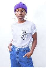 Swenn T-shirt unisexe Loutre - Blanc