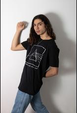 Les roches qui roulent T-shirt unisexe Le côté foncé de la lune