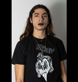 Les roches qui roulent T-shirt unisexe Bisou noir