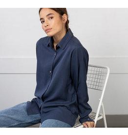 Lépidoptère Chemise Berenice bleu marin