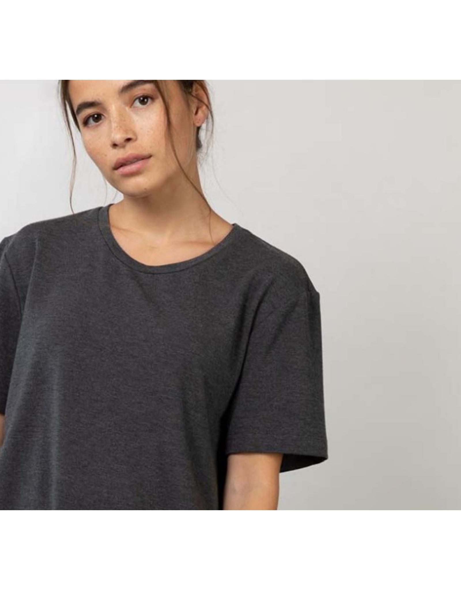 Lépidoptère T-shirt Agathe charcoal