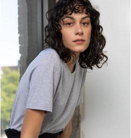 Lépidoptère T-shirt Agathe gris chiné