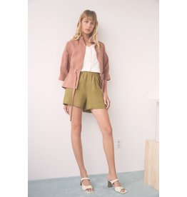 Eve Gravel Short By the Sea olive