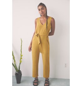 Eve Gravel Jumpsuit Owl Moon saffron