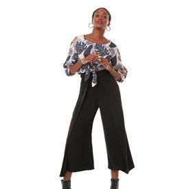 Annie 50 Pantalon Cuba libre - Noir