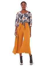 Annie 50 Pantalon Cuba libre jaune