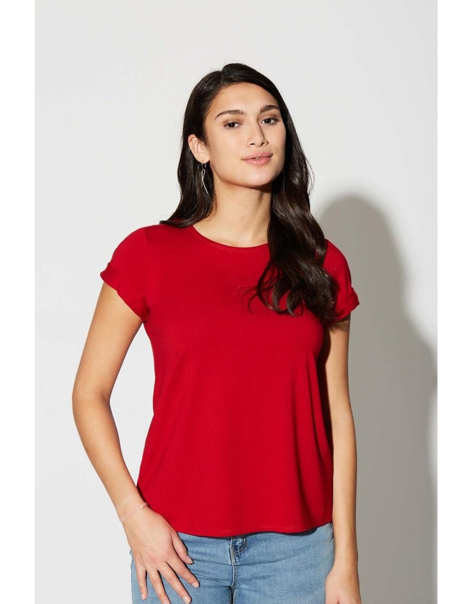Cherry Bobin T-shirt Bahamas bamboo rouge